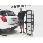 Curt 24x60 Hitch Cargo Carrier Review - 2014 Chevrolet Equinox