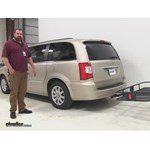 Curt 24x60 Hitch Cargo Carrier Review - 2014 Chrysler Town and Country