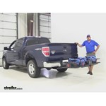 Curt 24x60 Hitch Cargo Carrier Review - 2014 Ford F-150