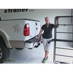 Curt 24x60 Hitch Cargo Carrier Review - 2014 Ford F-250 and F-350 Super Duty