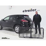 Curt 24x60 Hitch Cargo Carrier Review - 2014 Nissan Murano