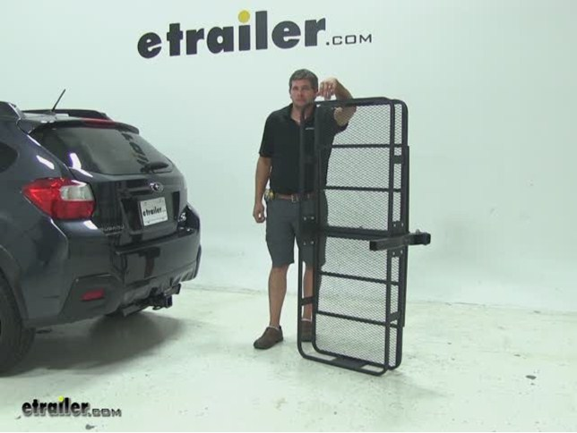 Curt 24x60 Hitch Cargo Carrier Review 2017 Subaru Xv Crosstrek Video Etrailer