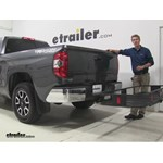 Curt 24x60 Hitch Cargo Carrier Review - 2014 Toyota Tundra