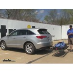 Curt 24x60 Hitch Cargo Carrier Review - 2015 Acura RDX