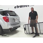 Curt 24x60 Hitch Cargo Carrier Review - 2015 Chevrolet Equinox