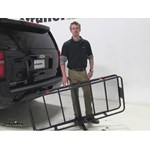 Curt 24x60 Hitch Cargo Carrier Review - 2015 Chevrolet Suburban