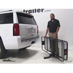 Curt 24x60 Hitch Cargo Carrier Review - 2015 Chevrolet Tahoe