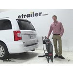 Curt 24x60 Hitch Cargo Carrier Review - 2015 Chrysler Town and Country