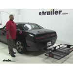 Curt 24x60 Hitch Cargo Carrier Review - 2015 Dodge Challenger