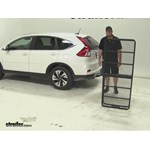 Curt 24x60 Hitch Cargo Carrier Review - 2015 Honda CR-V
