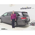 Curt 24x60 Hitch Cargo Carrier Review - 2015 Honda Odyssey