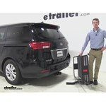 Curt 24x60 Hitch Cargo Carrier Review - 2015 Kia Sedona