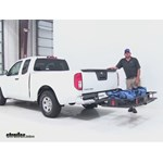 Curt 24x60 Hitch Cargo Carrier Review - 2015 Nissan Frontier