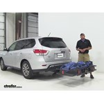 Curt 24x60 Hitch Cargo Carrier Review - 2015 Nissan Pathfinder
