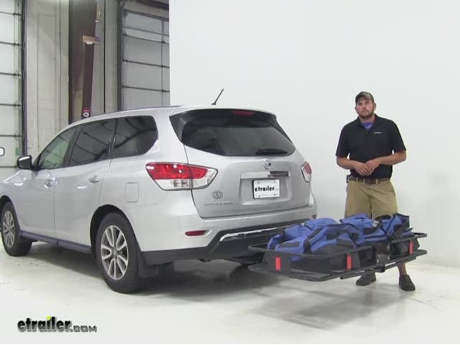 Curt 24x60 Hitch Cargo Carrier Review 2017 Nissan Pathfinder