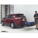 Curt 24x60 Hitch Cargo Carrier Review - 2015 nissan rogue