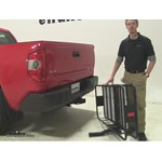 Curt 24x60 Hitch Cargo Carrier Review - 2015 Toyota Tundra
