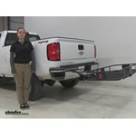 Curt 24x60 Hitch Cargo Carrier Review - 2016 Chevrolet Silverado 2500