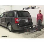 Curt 24x60 Hitch Cargo Carrier Review - 2016 Chrysler Town and Country