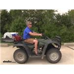 Video review curt atv cargo carrier c18101