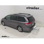 Curt Folding Aluminum Cargo Carrier Review - 2014 Toyota Sienna
