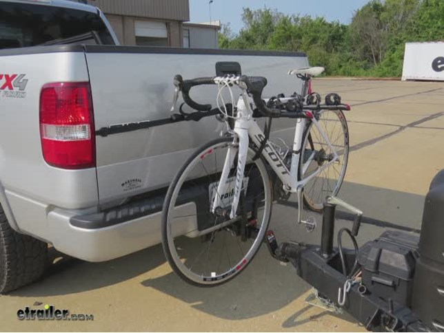 Venzo 2 Bicycle Bike Rack Tow Bar Hitch 2 Mount Car Carrier