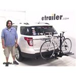 Curt  Hitch Bike Racks Review - 2011 Ford Explorer