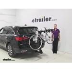 Curt  Hitch Bike Racks Review - 2014 Acura MDX
