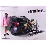 Curt  Hitch Bike Racks Review - 2014 Subaru XV Crosstrek