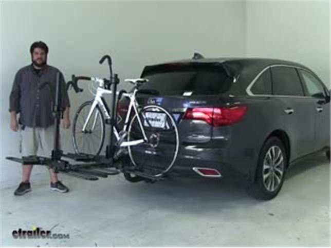 Curt Hitch Bike Racks Review Acura Mdx Video Etrailercom - Acura mdx bike rack