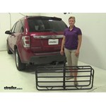 Curt 17x46 Hitch Cargo Carrier Review - 2005 Chevrolet Equinox