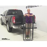 Curt Hitch Cargo Carrier Review - 2014 Nissan Frontier
