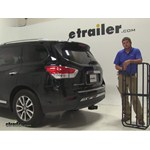 Curt 17x46 Hitch Cargo Carrier Review - 2014 Nissan Pathfinder