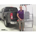 Curt Folding Aluminum Cargo Carrier Review - 2014 Nissan Frontier
