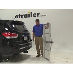 Curt 19x60 Hitch Cargo Carrier Review - 2014 Nissan Pathfinder
