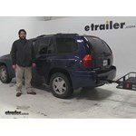 Curt  Hitch Cargo Carrier Review - 2002 GMC Envoy