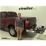 Curt  Hitch Cargo Carrier Review - 2005 Toyota Tundra