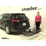 Curt  Hitch Cargo Carrier Review - 2006 Subaru B9 Tribeca