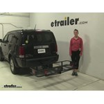 Curt  Hitch Cargo Carrier Review - 2007 Dodge Nitro