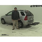 Curt  Hitch Cargo Carrier Review - 2008 Kia Sportage