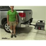 Curt  Hitch Cargo Carrier Review - 2008 Toyota Tundra