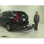 Curt  Hitch Cargo Carrier Review - 2008 Volvo XC90