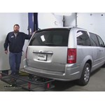 Curt  Hitch Cargo Carrier Review - 2010 Chrysler Town and Country