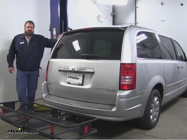 Curt Hitch Cargo Carrier Review 2010 Chrysler Town And Country