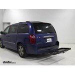 Curt  Hitch Cargo Carrier Review - 2010 Dodge Grand Caravan