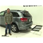 Curt  Hitch Cargo Carrier Review - 2010 Dodge Journey