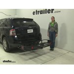 Curt  Hitch Cargo Carrier Review - 2010 Ford Edge