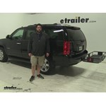 Curt  Hitch Cargo Carrier Review - 2010 GMC Yukon
