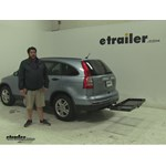 Curt  Hitch Cargo Carrier Review - 2010 Honda CR-V