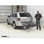 Curt  Hitch Cargo Carrier Review - 2010 Jeep Grand Cherokee